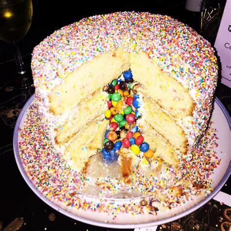 easy funfetti pinata birthday cake