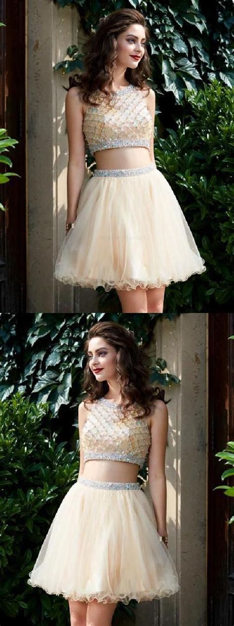 Cute Homecoming Dresses, Homecoming Dresses A-Line, Two ...