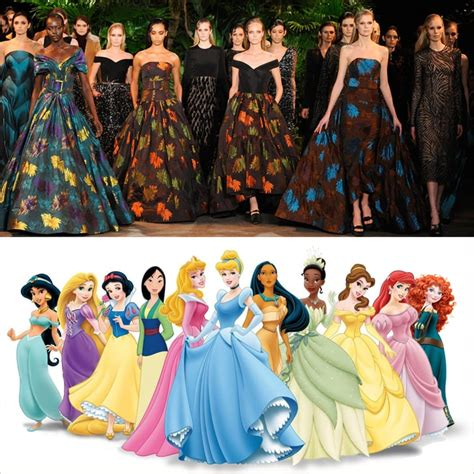 disney princess dressers dresses that look like disney princess gowns fall 2015