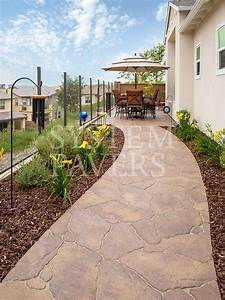 Walkway, Pavers, Front, Walkway, U0026, Garden, Landscape, Walkways