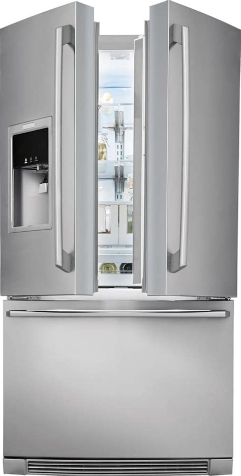electrolux wavetouch electrolux ew23bc87ss 36 inch counter depth door