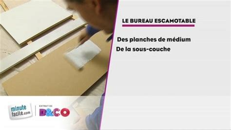 Comment Faire Un Bureau by Comment Faire Un Bureau Escamotable Minutefacile
