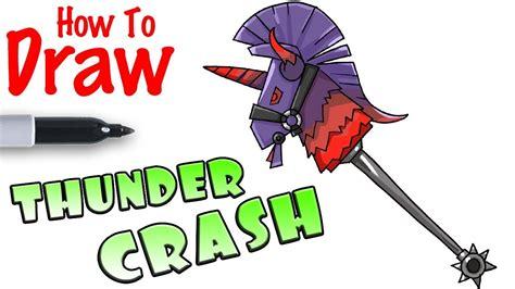 draw thunder crash fortnite youtube