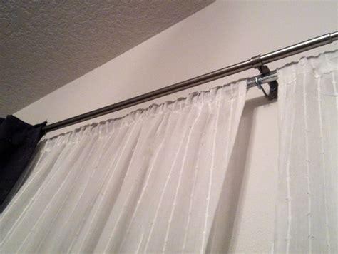 tension rod kitchen curtains home design ideas