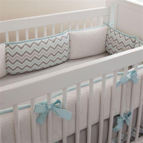 bumpers for cribs mist and gray chevron crib bumper carousel designs