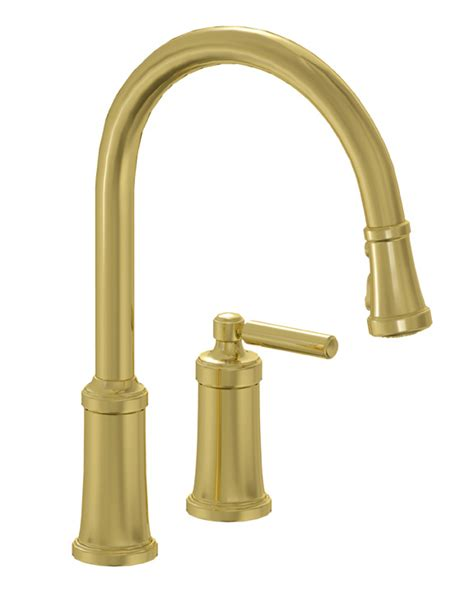Unlacquered Brass Bridge Faucet by Unlacquered Brass Kitchen Faucet Goenoeng