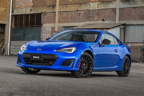 subaru brz subaru brz ts launched as new range topper with sti