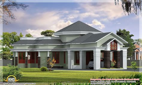 Best One Story House Plans One Floor House Designs, One