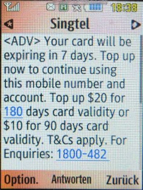 singtel  prepaid sim karte singapore