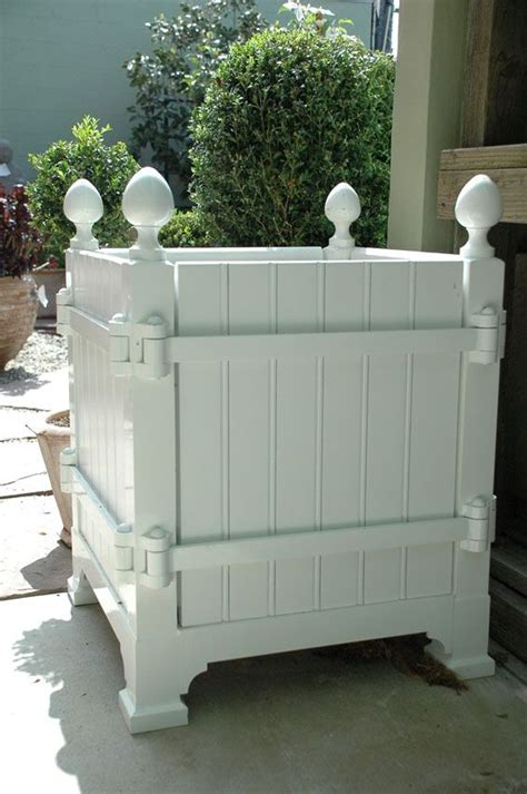 versailles planters opening sides helpful  replacing