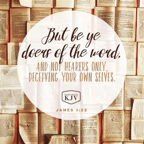 Kjv Verse Of The Day James 122