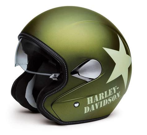 motorradhelm harley davidson 98241 16em harley davidson helm retro 3 4 olive gold denim im thunderbike shop