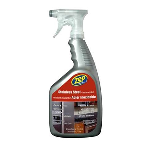 zep zep stainless steel cleaner 946ml home depot canada