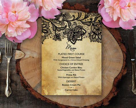 7 wedding dinner program templates psd ai free
