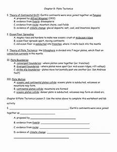 Fossil And Mountain Chain Evidence Worksheet Answers