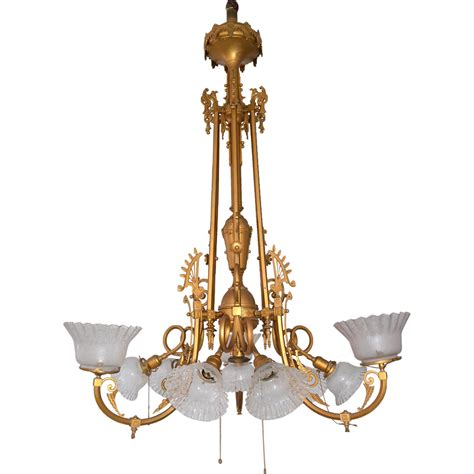 Large Brass Chandelier by 12 Collection Of Large Brass Chandelier
