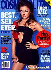 Lucy Hale In Cosmopolitan Magazine  September 2014 Issue