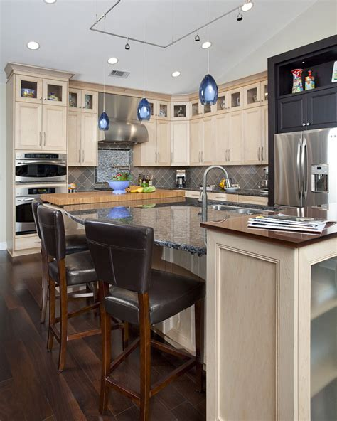 black kitchen cabinets with floors prefab cabinets kitchen modern with cork floor modern oak 9296