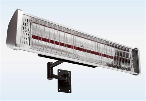 infrarot terassenheizung klimafirstklaas 187 1 500 watt 171 mit wand und schirmklemme