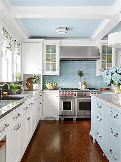 kitchens with cabinets best 25 blue kitchen countertops ideas on 6644