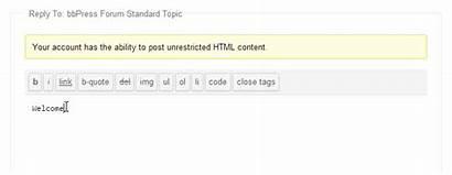 Bbpress Buddypress Interface Mentions Replies Demo Test