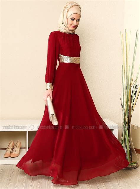 modest  fashionable prom dresses  hijab
