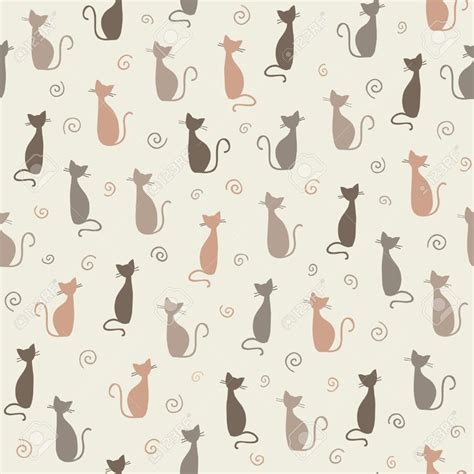 54 Best Images About Cats Pattern On Pinterest  Cute Cats
