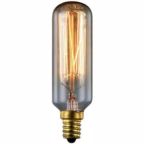 lighting 40 watt incandescent e12 vintage edison