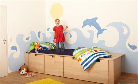 Kinderzimmer Gestalten Meer by Kinderzimmer Wandmalerei Maltechniken Selbst De