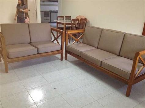 solid wood sofa set    sale  singapore