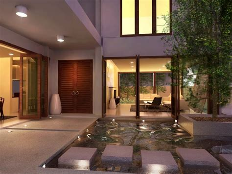 Courtyard Home by Interior Courtyards