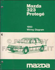 1993 Mazda 323 And Protege Repair Shop Manual Original