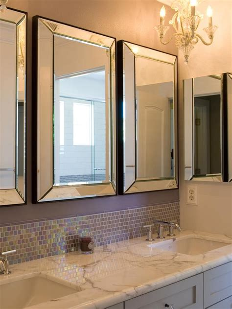 mirror ideas for bathroom vanity contemporary bathroom photos hgtv