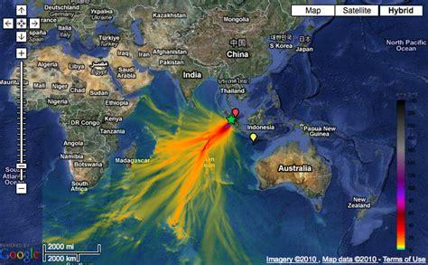 noaa maps october  indonesian tsunami gcaptain