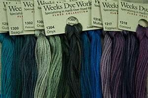 Weeks Dye Works Embroidery Floss 6 Strand 2 Strand