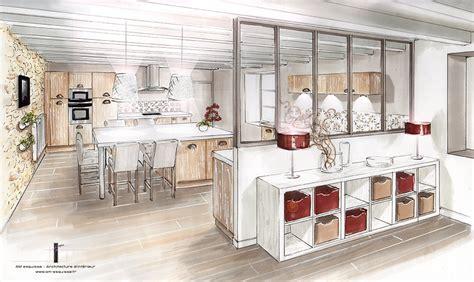 cuisine perspective aménagement et décoration d 39 une cuisine la mothe st