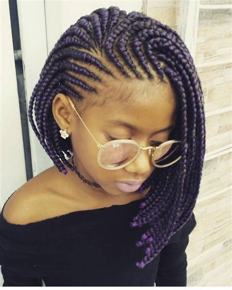 bob hairstyle with braids pin by afua mckinney on hair hair styles braided