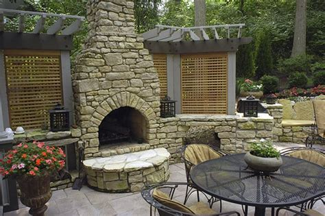 outdoor fireplace cincinnati  photo gallery