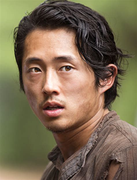 It really was like a is anyone watching the walking dead tonight its just not the same without glenn. THE MUSE : 'The Walking Dead' Character Directory