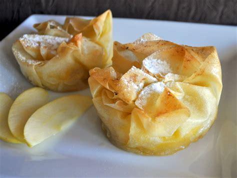 dessert avec feuille de brick recette croustades aux pommes cuisinez croustades aux pommes