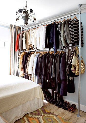 Ideas For Hanging Clothes Without A Closet by 25 Best Ideas About Hanging Closet On Hanging