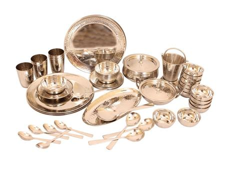 steel dinner stainless sets brands india dinnerware