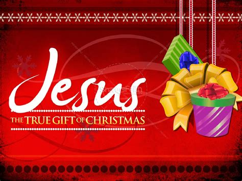 christmas is not about the gifts jesus gift powerpoint sermon