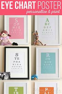 Make Your Own Birth Chart Fancy Eye Chart Maker Create Custom Eyecharts Online