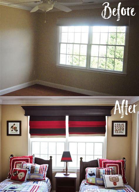 remodelaholic   build  hang  window cornice