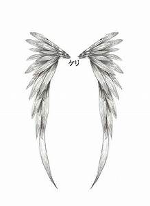 simple angel wings tattoo   Angel Wing Tattoo Design by ...