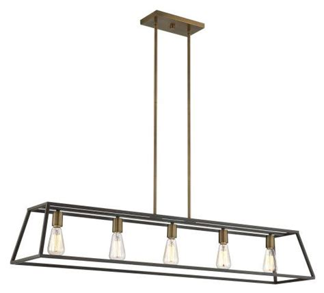 Bathroom Light Fixtures Toronto by Vintage Industrial Tapered Cage Linear Fixtures Island
