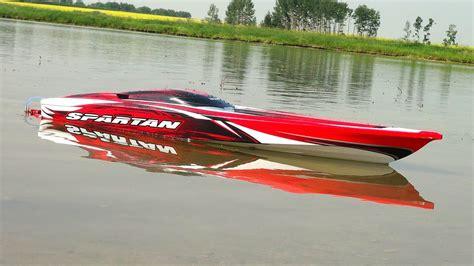 Traxxas Rc Boats Youtube by Rc Adventures Traxxas Spartan First Run 4s Lipo
