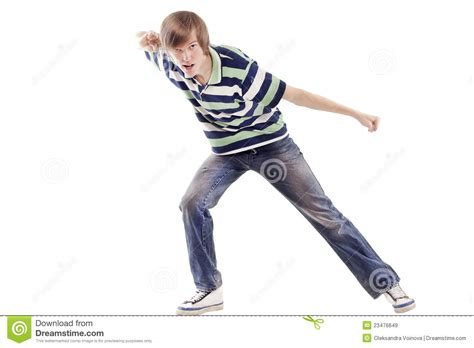 young man dancing locking  hip hop royalty  stock images image
