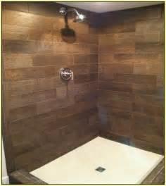 porcelain bathroom tile ideas wood look ceramic tile shower home design ideas